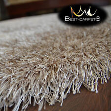 AMAZING SOFT & THICK RUG 'LOVE SHAGGY' Polyester 6cm HIGH QUALITY carpets 7sizes