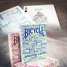 "Bicycle Deck Poker Spielkarten ""Table Talk"" Premium USPC Playing Cards"