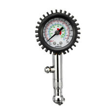 220PSI Tire Tyre Air Pressure Gauge Dial Meter For Auto Car Vehicle Motorcycle