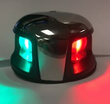 Marine Boat 12V Red & Green LED Combination Navigation Light Watertight 1NM