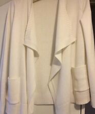 WHITE COMPANY WHITE LABEL CARDIGAN 8 IVORY CREAM