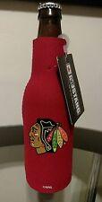 Chicago Blackhawks Bottle Suit Holder [NEW] Coozie Koozie Cold Neoprene NHL