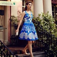 NWT Anthropologie Azure Lace Dress Blue Size 0 Plenty by Tracy Reese
