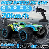 1:14 RC Remote Control Off-Road Vehicle Racing Car 2.4Ghz Crawlers Kid Toy  U -