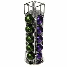 20 Piece 4 Row NESPRESSO VERTUO MUG MELOZIO Coffee Pod Capsule Holder Stand with