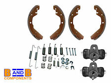 VW T2 BAY CAMPER VAN REAR BRAKE SHOES WHEEL CYLINDER FITTING KIT 1973-1979 A638