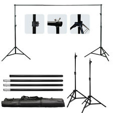 Photo Photography Studio Backdrop Background Support Stand Set Kit Adjustable