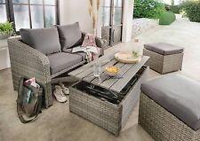 Destiny Lounge Jersey II 4teilig Sitzgruppe Polyrattan