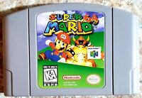 Super Mario 64 (Nintendo 64, 1996) *TESTED & WORKING* Cart Only *Great Shape*