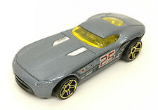2011 Hot Wheels Track Stars Fast FeLion 9/15 Gun Metal Blue 1:64 *Mint Loose
