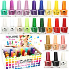 24 x NAIL VARNISH POLISH 24 DIFFERENT CLASSIC COLOURS WHOLESALE JOB LOT FROM UK