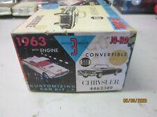 VINTAGE 1 25 MODEL 1963 JO HAN CHRYSLER BOX ONLY JUNKYARD PART LOT