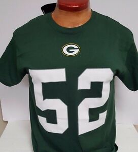 CLAY MATTHEWS GREEN BAY PACKERS MENS MEDIUM NAME AND NUMBER SHIRT TEAM NFL NEW