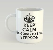 Keep Calm I'M Going To Be A Stepson Mug Funny Birthday Novelty Gift Marriage