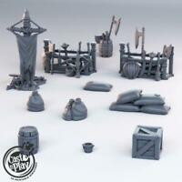Battlefield Scatter Pack- 28mm Props and Terrain