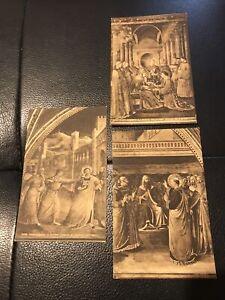 Joblot Postcards Religion X 3 Unposted