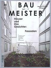 Baumeister, B4, April 2017: Fassaden +++ wie neu +++