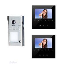 Video Türsprechanlage Kamera Klingelanlage Sprechanlage Familienhaus 617S1 2x43B