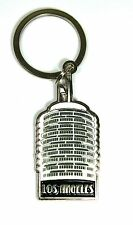 CALIFORNIA LOS ANGELES HOLLYWOOD Capitol Records Tower Key Chain Gift & Souvenir