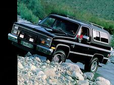 1984 Chevrolet Blazer K-5, BLACK, Refrigerator Magnet