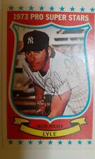Kelloggs 1973 Sparky Lyle New York Yankees
