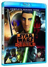 Star Wars Rebels - Season 3 (Blu-ray, 3 Discs, Region Free) *NEW/SEALED*