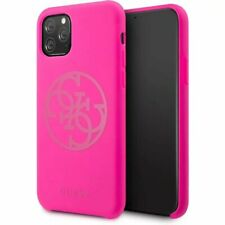 Genuine Guess Silicone 4G Tone Impact Case Cover for iPhone 11 Pro