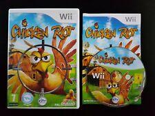 Chicken Riot - Nintendo Wii / Wii U - PAL - Fast P&P! - Zapper Gun Compatible