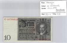 BILLET ALLEMAGNE - 10 REICHSMARK - 22-1-1929