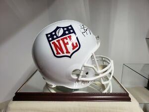Peyton Manning Autographed F/S NFL Helmet Fanatics COA