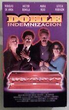 rodolfo de anda  DOBLE INDEMNIZACION  hector bonilla   VHS VIDEOTAPE