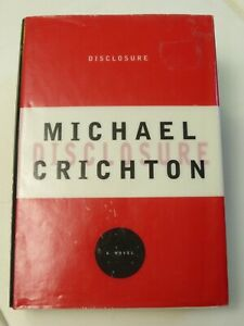 """Disclosure"" Michael Crichton Signed Hardcover Book"