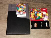 Krusty's Fun House The Simpsons w/Manual & Sleeve Nintendo Nes Tested Authentic