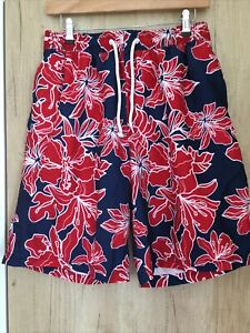 Mens Blue Harbour M&S Swimming Shorts Size Medium Waist 33-35 Inches