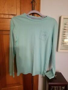 Vineyard Vines Long Sleeve T-Shirt Size Youth Medium 100% Cotton