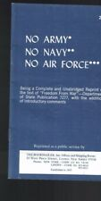 No Army No Navy No Air Force booklet 1964 United States