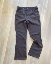 Vintage 70s Mens Wrangler Pants 1970s 80s Brown Jeans 34 32