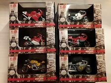 6 x Ducati  * 1:32 New Ray