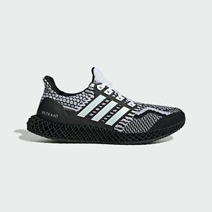"Adidas Ultra 4D 5.0 Running Shoes ""Cookies & Cream"" Black White G58158 Men's NEW"