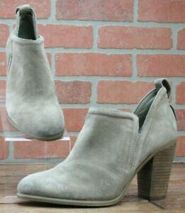$149 Vince Camuto Francia Bootie Tan Leather Women's Size EUR 37.5/US 7.5 M