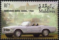 1968 MERCEDES-BENZ 280SL Mint Automobile Sports Car Stamp (2001 Maldives)