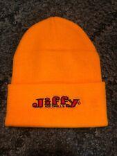 Jiffy Ice Drill Yellow Knit Hat
