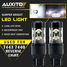2X Back Up Reverse Light Bulb CREE 50W 7443 7440 LED Extremely Bright 2800LM EA