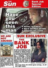 THE BANK JOB Movie POSTER 27x40 D Jason Statham Saffron Burrows Daniel Mays