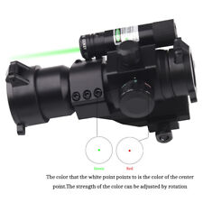 Holographic Sight Red Green Dot Scope 1X30 with Green Laser for Shotgun