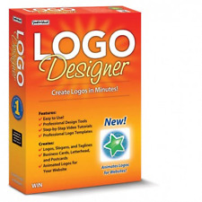 LOGO DESIGNER PC Software (Latest Version)---Windows 10, 8,7,XP--------brand new