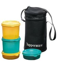 Tupperware Executive Lunch Box Set with Bag - 4Pieces