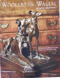 Woolley & Wallis Furniture & Works of Art Catalogue 11th November 2008