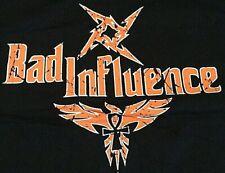 TNA Official Bad Influence Orange XL T-Shirt, Christopher Daniels, Kazarian, ROH