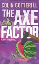 """""""VERY GOOD"""" Cotterill, Colin, The Axe Factor (Jimm Juree 3), Book"""